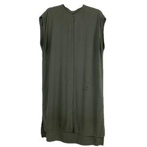 Eileen Fisher ButtonDown Sleeveless Mandarin Tunic